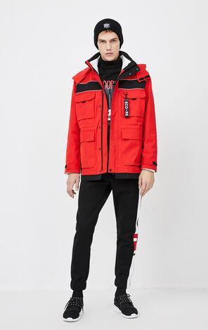 JackJones Men's Winter Detachable Lining Hooded Cotton Jacket| 220109504