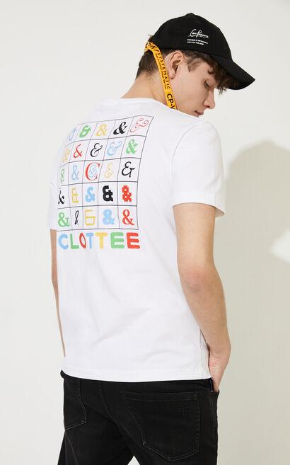 CLOTTEE聯名T-Shirt, White, large