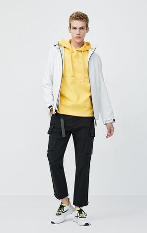 JackJones Men's Letter Print Hooded Knitted Coat| 220121525