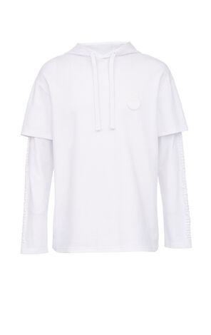 皇馬聯名假兩件長袖 T-Shirt
