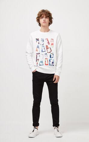 JackJones Men's Winter Round Neckline Mouse Pattern Pullover Sweatshirt| 220133507