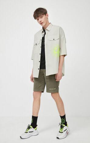 環保系列字母短褲