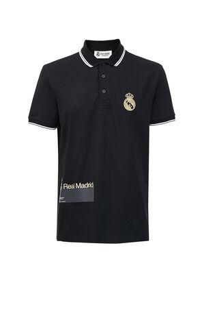 JackJones Two-color Contrasting Stripe Polo Shirt X Real Madrid | 220106514