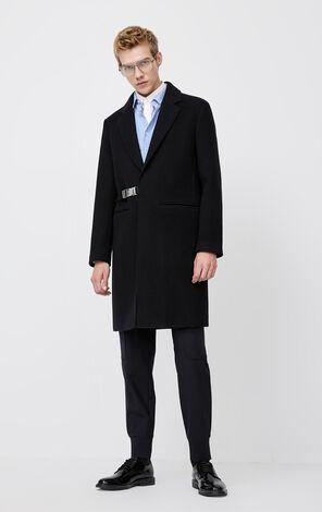 JackJones Winter Mid-length Woolen Overcoat| 220127501
