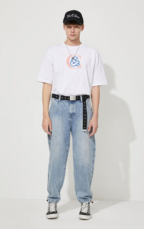 CLOTTEE×JACKJONES Men's Summer Chinese Style Print Short-sleeved T-shirt| 220301516