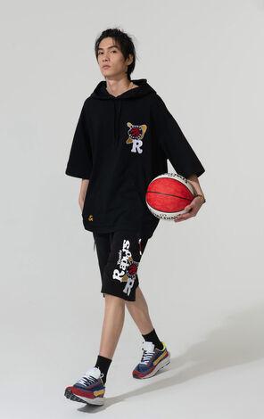 【NBA聯名款】多倫多速龍隊塗鴉圖案連帽衛衣