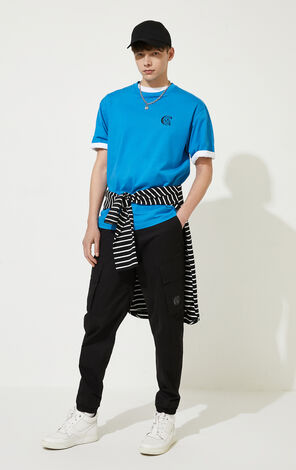CLOTTEE×JACKJONES Men's Summer Chinese Style Landscape Print T-shirt | 220301515