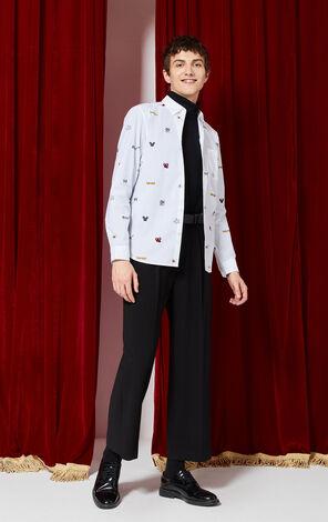JackJones Turn-down Collar Printed Cotton Long-sleeved Shirt X Mickey Mouse| 220105504