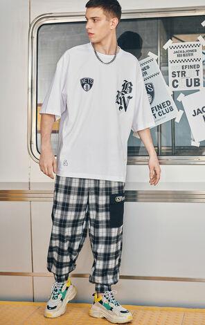 【NBA聯名款】哥特風字體LogoT恤