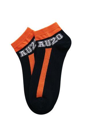 字母棉質中短襪(三對裝)