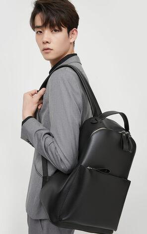 JackJones Men's Spring Leather Backpack| 220185506