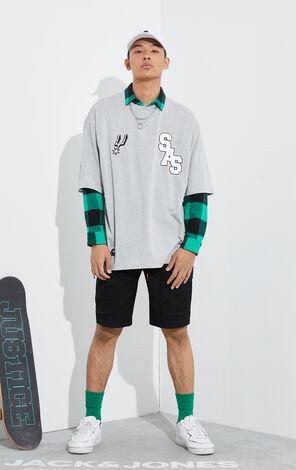 【NBA聯名款】聖安東尼奧馬刺隊LogoT恤