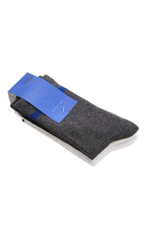拼色棉質長襪(三對裝)