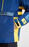 【NBA聯名款】勇士隊撞色連帽外套, Blue, large