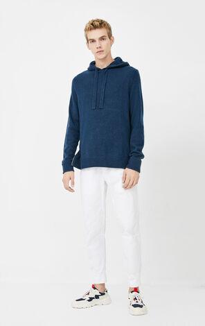 JackJones Men's Autumn & Winter Straight Fit Hooded Pullover Knit Sweater| 220124504