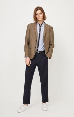 JackJones Men's Spring Slim Fit Pure Color Suit Jacket| 220108505