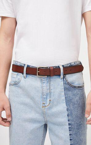 JackJones Men's Pure Color Pin Buckle Waist Belt O| 22015O508