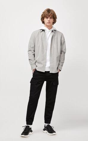 JackJones Men's Autumn 100% Cotton Corduroy Long-sleeved Shirt| 220105505