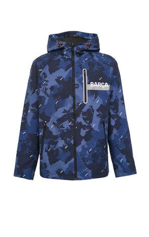 JackJones Men's Camouflage Jacket X Barcelona Football Club| 220121576