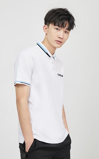 POLO恤, White, large
