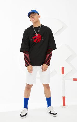 【NBA聯名款】多倫多速龍隊反光Logo標誌T恤